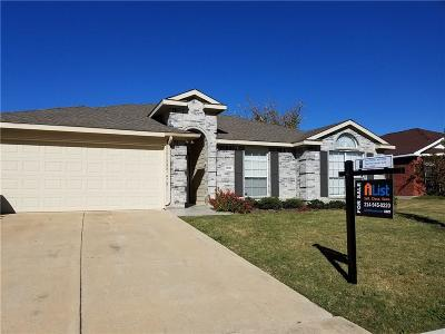 Little Elm Single Family Home For Sale: 1007 Waterview Drive
