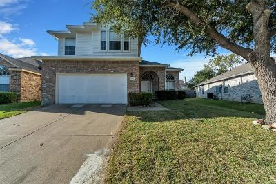 Garland Single Family Home For Sale: 1502 Cross Courts Drive