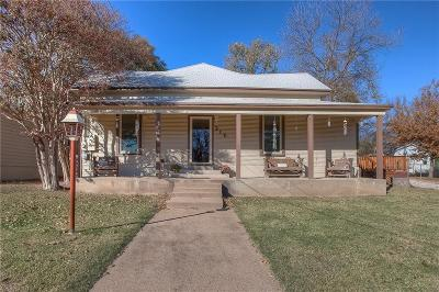 Weatherford Single Family Home For Sale: 316 Cleveland Avenue