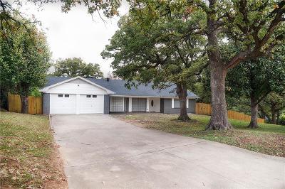 Arlington Single Family Home Active Option Contract: 2803 Crowley Court