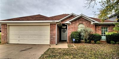 Fort Worth Single Family Home For Sale: 3620 Fleetwood Drive