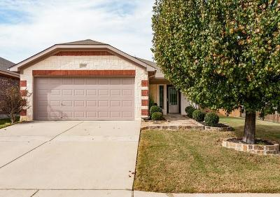 Fort Worth TX Single Family Home For Sale: $205,000
