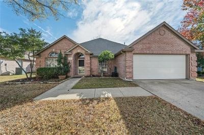 Flower Mound Single Family Home Active Contingent: 1701 Crabapple Lane