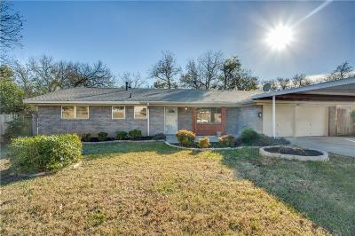 North Richland Hills Single Family Home Active Option Contract: 5916 N Hills Drive