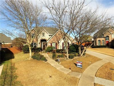 McKinney Single Family Home Active Option Contract: 8900 Oakridge Court