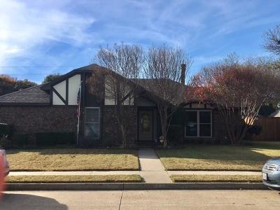 Allen Single Family Home For Sale: 708 Bluebonnet Drive