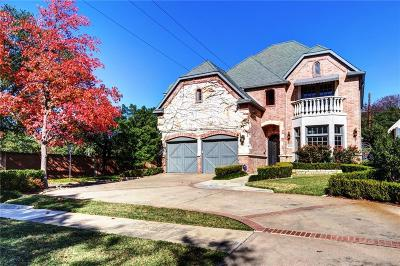 Dallas Single Family Home For Sale: 4596 Belfort Avenue