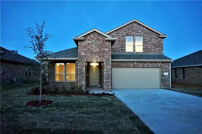 Cleburne Single Family Home For Sale: 1822 Creekwood Drive