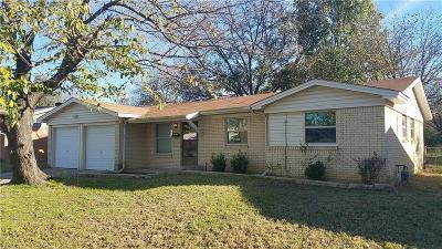 Burleson Single Family Home Active Option Contract: 208 Jayellen Avenue