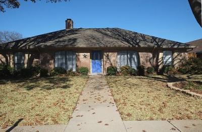 Richardson Single Family Home For Sale: 1408 Huntington