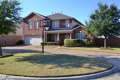Mansfield Single Family Home Active Contingent: 2807 Chesterwood Court