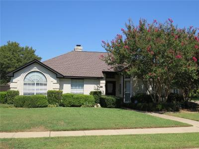 Coppell Single Family Home Active Option Contract: 540 Meadowood Lane