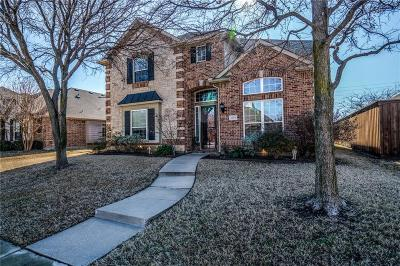 Frisco Single Family Home Active Option Contract: 15773 Waterview Drive