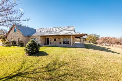 Weatherford Single Family Home For Sale: 2001 Clark Lake Road