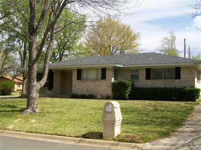 Sherman Single Family Home For Sale: 2817 Devonshire Drive