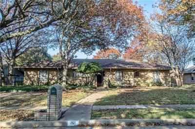 Richardson Single Family Home For Sale: 2521 Little Creek Drive