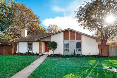 Richardson Single Family Home Active Option Contract: 2114 Wheaton Drive