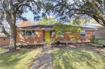 Dallas Single Family Home For Sale: 10847 Caprock Circle