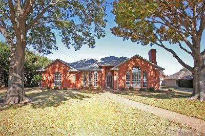 Richardson Single Family Home Active Option Contract: 1401 Andover Lane