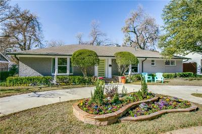 Dallas Single Family Home For Sale: 10465 Sinclair Avenue