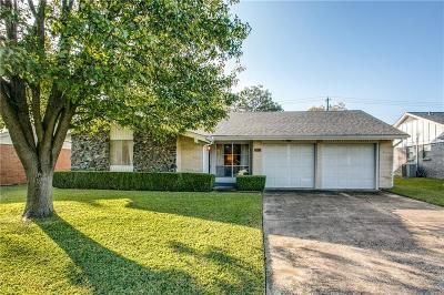 Plano TX Single Family Home Active Option Contract: $199,900