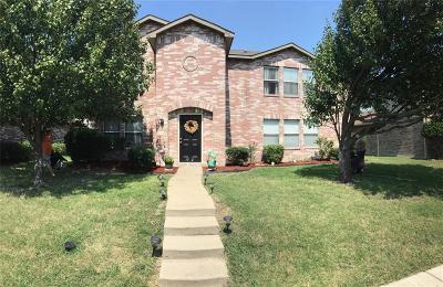 Rockwall Single Family Home For Sale: 1512 Hickory Creek Lane