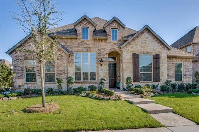 Lewisville Single Family Home For Sale: 2608 Damsel Bella Boulevard