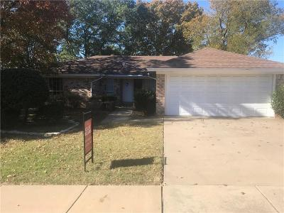 Bedford Single Family Home Active Option Contract: 1605 Bedford Oaks Drive