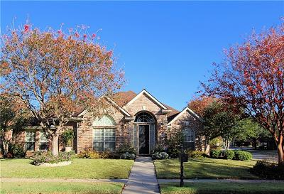 Flower Mound Single Family Home Active Option Contract: 3904 Fairfax Way