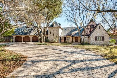 Dallas Single Family Home For Sale: 4945 Crooked Lane