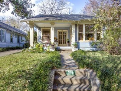 Dallas Single Family Home Active Option Contract: 311 N Winnetka Avenue