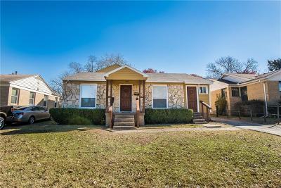 Dallas Single Family Home For Sale: 1926 Berwick Avenue