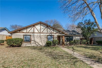 Plano Single Family Home Active Option Contract: 3621 Timberline Drive