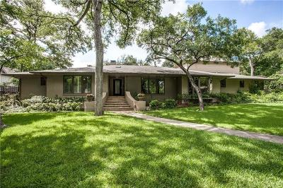 Dallas Single Family Home For Sale: 7538 Baxtershire Drive
