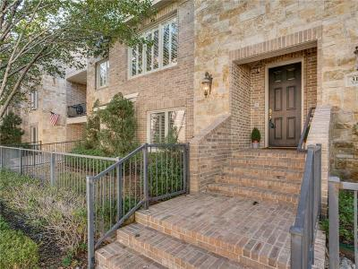 Dallas Townhouse For Sale: 3183 Armstrong Avenue
