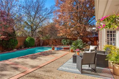 Dallas Single Family Home For Sale: 7318 Hiddencreek Drive