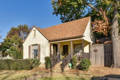 Dallas Single Family Home For Sale: 2707 Burlington Boulevard