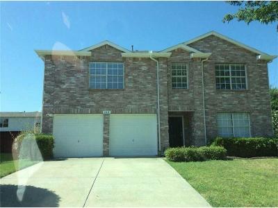 Little Elm Single Family Home For Sale: 640 Aqua Drive