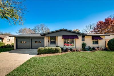 Farmers Branch Single Family Home Active Option Contract: 13656 Pyramid Drive