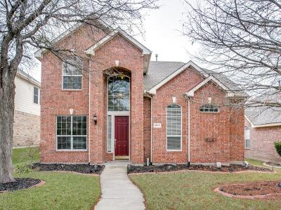 Allen Single Family Home For Sale: 2019 Camelot Drive