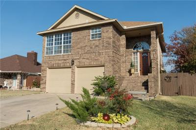 Keller Single Family Home Active Option Contract: 1908 Stallion Court