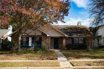 Flower Mound Single Family Home Active Option Contract: 4320 Southhampton Court