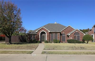 Richardson Single Family Home Active Option Contract: 3501 Fairlands Drive