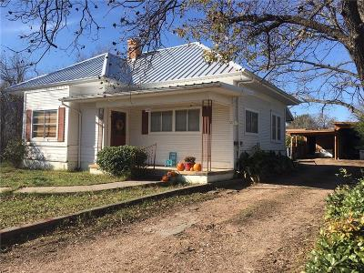 Comanche County Single Family Home Active Option Contract: 405 N Pearl Street