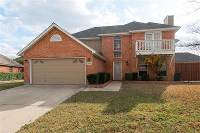 Haltom City Single Family Home Active Option Contract: 5608 Fairway Circle