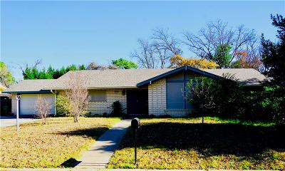 Stephenville TX Single Family Home Active Option Contract: $137,500