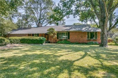 Dallas Single Family Home For Sale: 9710 El Patio Drive