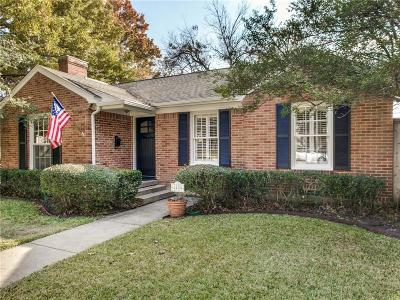 University Park Single Family Home Active Option Contract: 4409 Amherst Avenue
