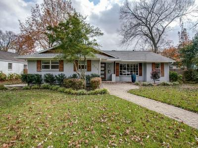 Dallas Single Family Home For Sale: 8338 San Cristobal Drive