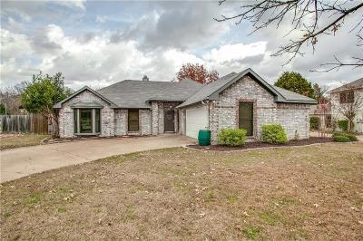 Mesquite Single Family Home For Sale: 1328 Quapaw Trail